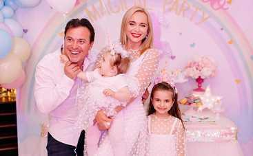 День рождения в условиях карантина и много сюрпризов: Лилия Ребрик празднует 2-летие дочери Полины