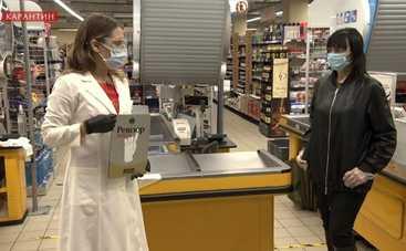 Ревизор. Карантин: Юлия Панкова наградила табличкой супермаркет украинской сети