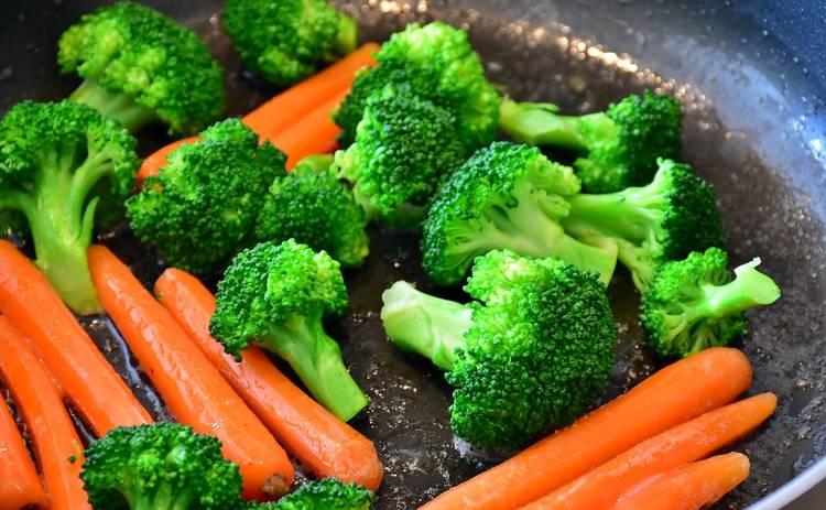 Тушеные овощи в апельсиновом соке (рецепт)