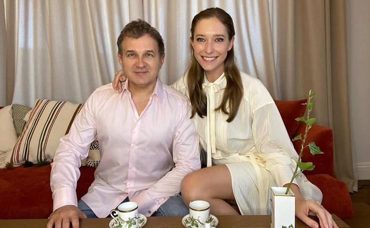 Катя Осадчая и Юрий Горбунов показали любимые места в Киеве: семейная прогулка