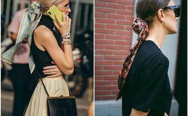 Тренды 2020: ТОП-3 способа, как носить этим летом шелковый платок