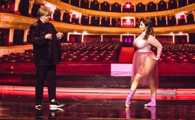 Вечерний квартал: Екатерина Кухар набрала 100 кг, а Юрий Ткач раскрыл свое
