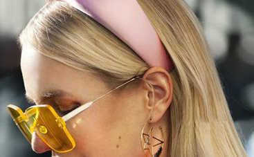 Делаем бархатный стильный обруч для волос: простая инструкция