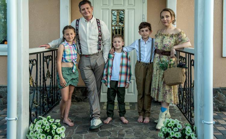 Евгений Сморигин с семьей на обложке журнала Теленеделя - ЭКСКЛЮЗИВ