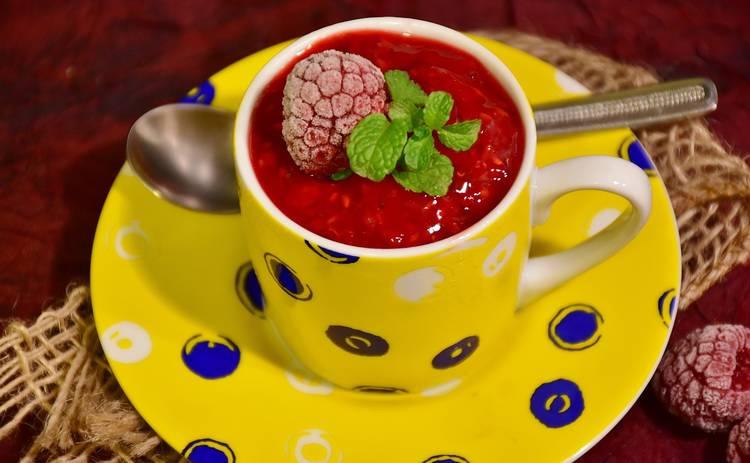 Полезный и вкусный малиновый сорбет: рецепт для жарких дней