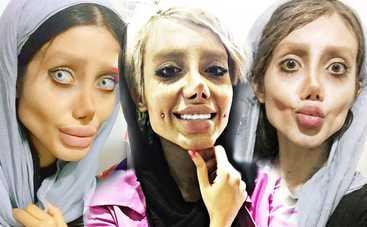 Девушка перенесла 50 операций, чтобы стать копией Джоли, но превратилась в зомби