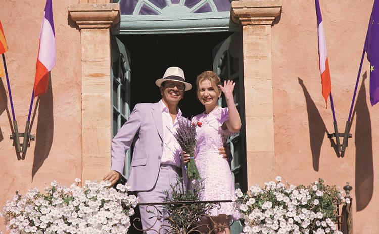 Инна Шевченко на обложке журнала Теленеделя: телеведущая вышла замуж в Провансе