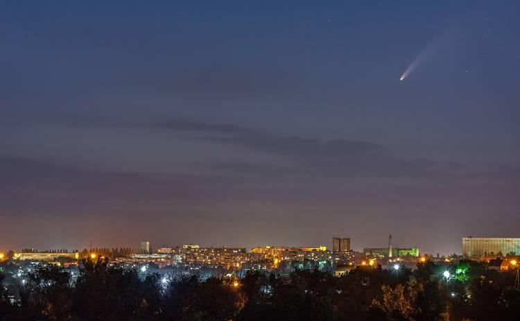 Украинцы увидят яркую комету на небе невооруженным глазом: как ее найти?