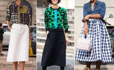 Больше не в моде: о каких моделях юбок нужно забыть навсегда