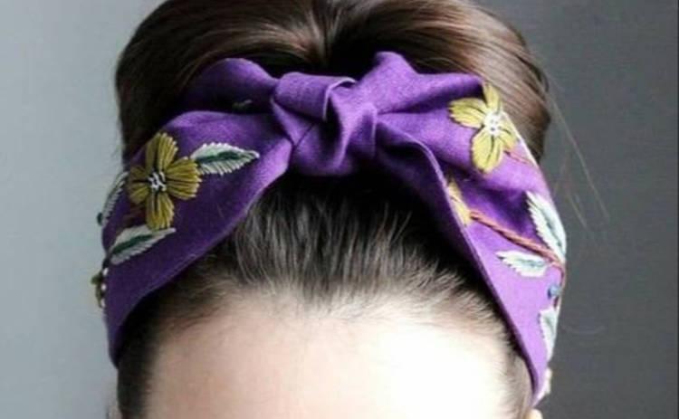 Тренды 2020: шьем стильную повязку на голову