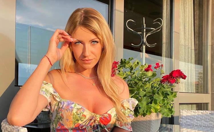 Леся Никитюк удивила воинственным образом: облачная дева