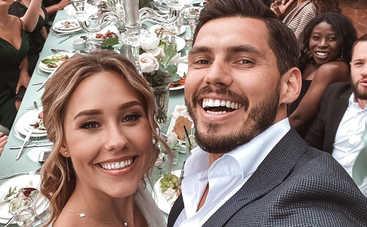 Никита Добрынин и Даша Квиткова отгуляли пышную свадьбу: трогательные фото