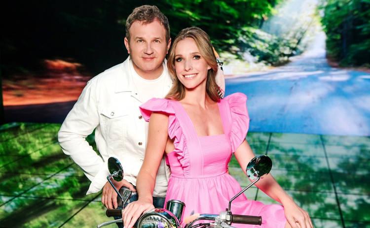 Катя Осадчая и Юрий Горбунов: как за многие годы работы на канале 1+1 изменились звездные супруги