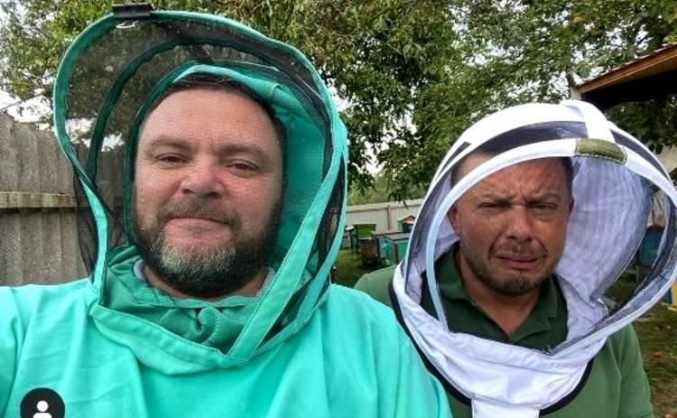 Как Виталий Тыльный стал пчеловодом: покусали пчелы