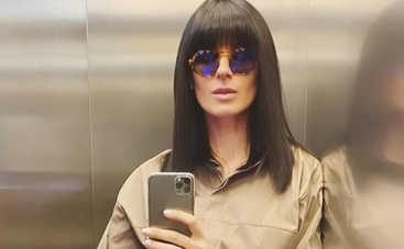Маша Ефросинина вышла на прогулку с аксессуаром за 93 тысячи гривен