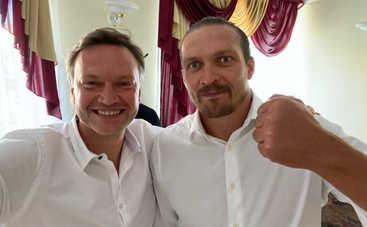 Андрей Данилевич стал студентом и однокурсником Александра Усика