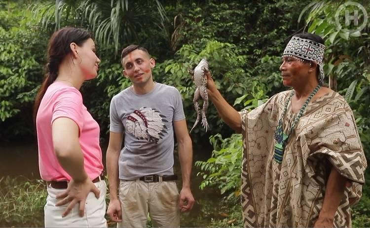 Кохання на виживання-4: участница реалити целовала жабу ради отношений