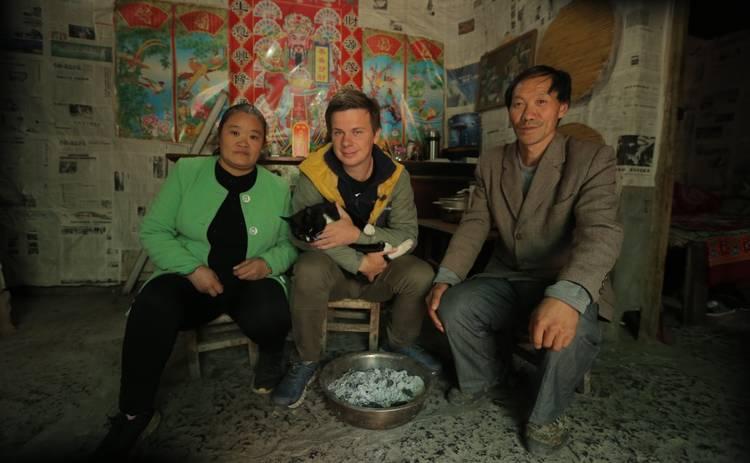 Мир наизнанку-11: Дмитрий Комаров займется спасением популяции панд в Китае