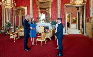 Елена Зеленская восхитила элегантным образом на визите с Кейт Миддлтон и принцем Уильямом