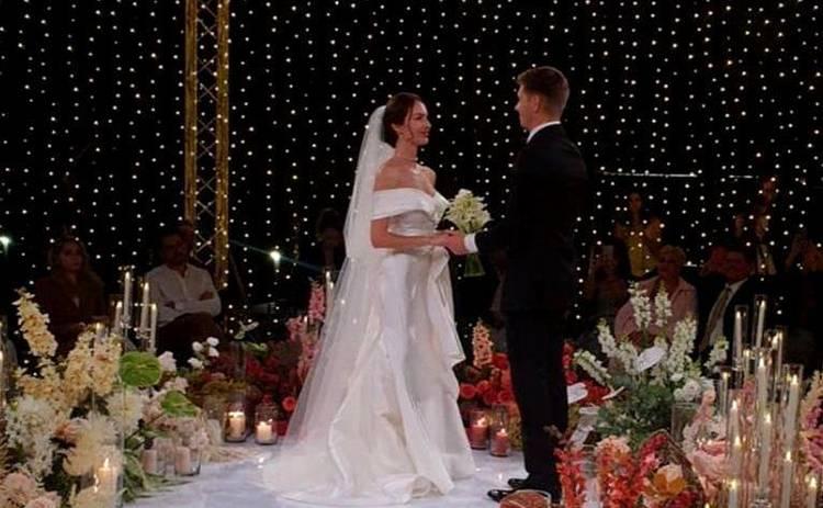 Владимир Остапчук и Кристина Горняк поженились: фото с шикарной свадьбы пары