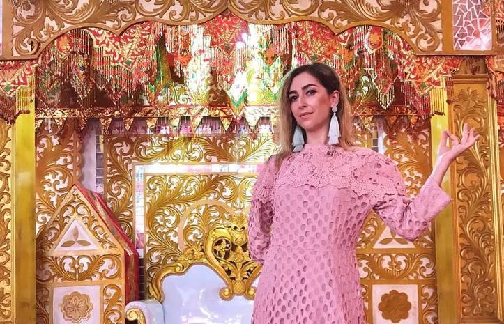 Ведущая Нового канала стала тамадой на индонезийской свадьбе