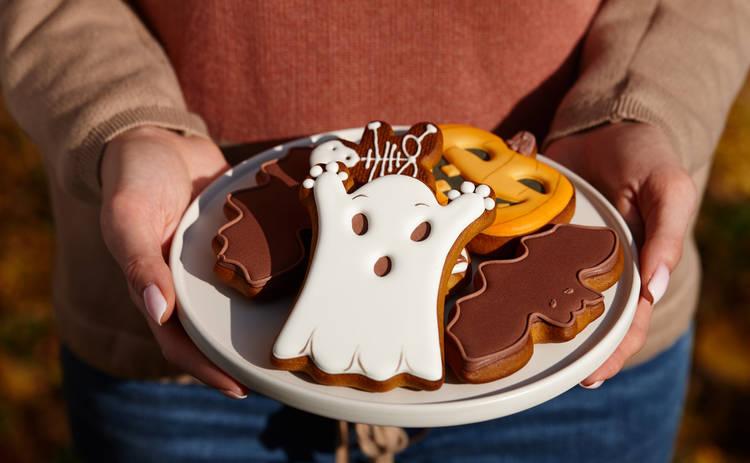 Рецепты на Хэллоуин для детей: тематические имбирные пряники
