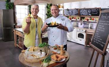 Готовим вместе: Закусочные блюда из сосисок (эфир от 01.11.2020)