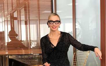 42-летняя украинская телеведущая впервые станет мамой