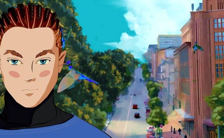 Артем Пивоваров выпустил первый анимационный клип с самыми красочными местами Украины