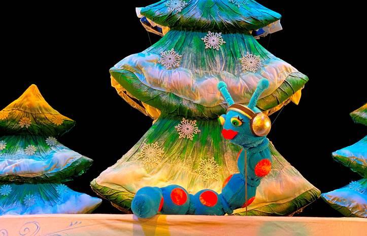 """Театр ляльок запрошує на прем'єру новорічної вистави """"Казка про музичну ялинку"""""""