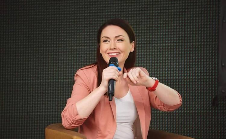 Илона Довгань стала ведущей телеканала «Киев»