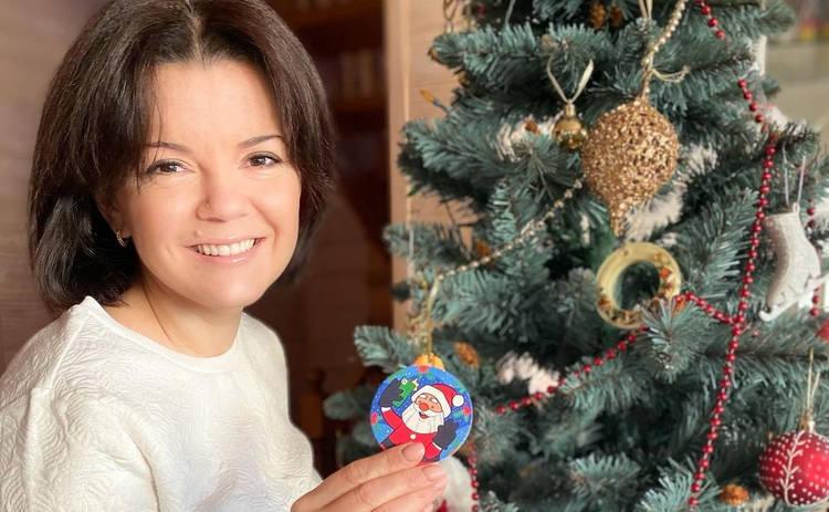 Маричка Падалко в собственном дворе покаталась на коньках: танцы на льду ‒ видео