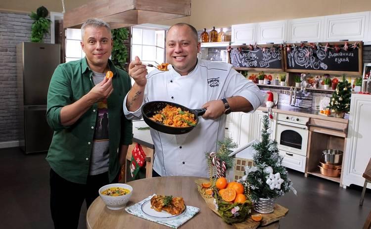 Готовим вместе. Домашняя кухня: смотреть онлайн 41 выпуск от 19.12.2020