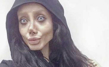 """Фотошоп вместо пластики: Иранская """"Зомби-Джоли"""" показала, как на самом деле выглядит"""