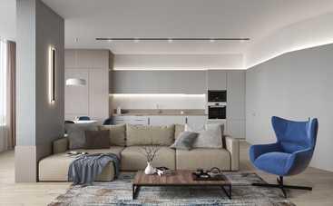 Дивани в стилі мінімалізм: робимо кімнату затишною