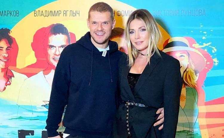 Антонина Паперная и Владимир Яглыч впервые показали публике 8-месячного сына