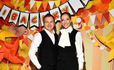Катя Осадчая и Юрий Горбунов поделились яркими кадрами со дня рождения сына Ивана