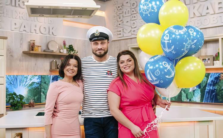 Егор Гордеев примерил форму моряка и презентовал шоу на 1+1: Большому кораблю – большое плавание