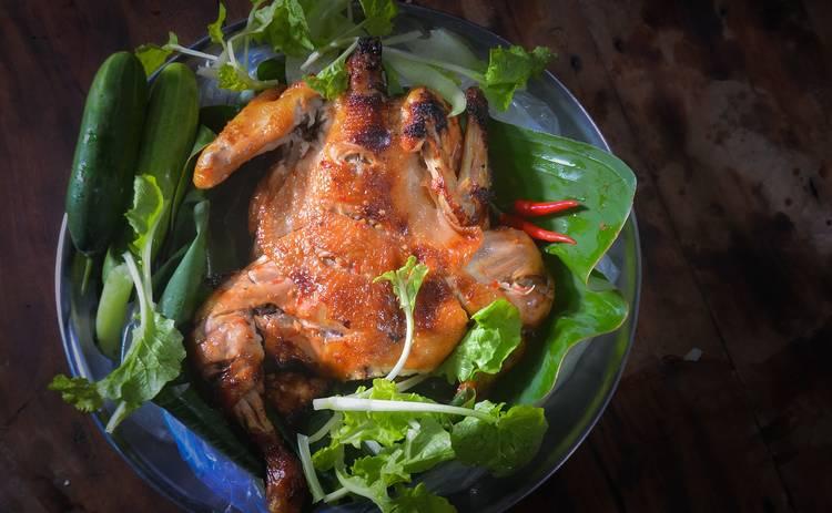 Курица фаршированная ветчиной и сыром: пошаговый рецепт