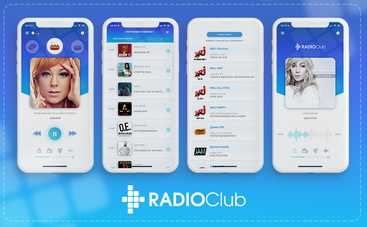 RadioClub презентував оновлений мобільний додаток