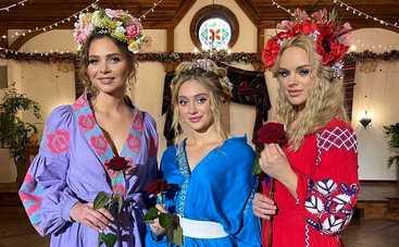 Холостяк-11: стилист и участницы поделились впечатлениями о шикарной Церемонии роз в украинском стиле