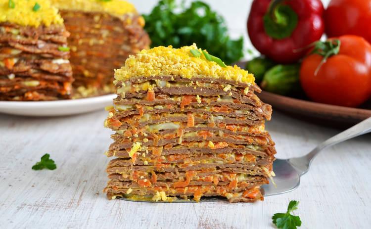 Печеночный торт для всей семьи: пошаговый рецепт