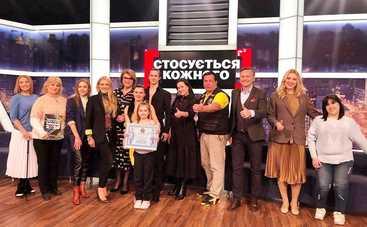 Стосується кожного: в студии ток-шоу девушка с протезом установила танцевальный рекорд Украины