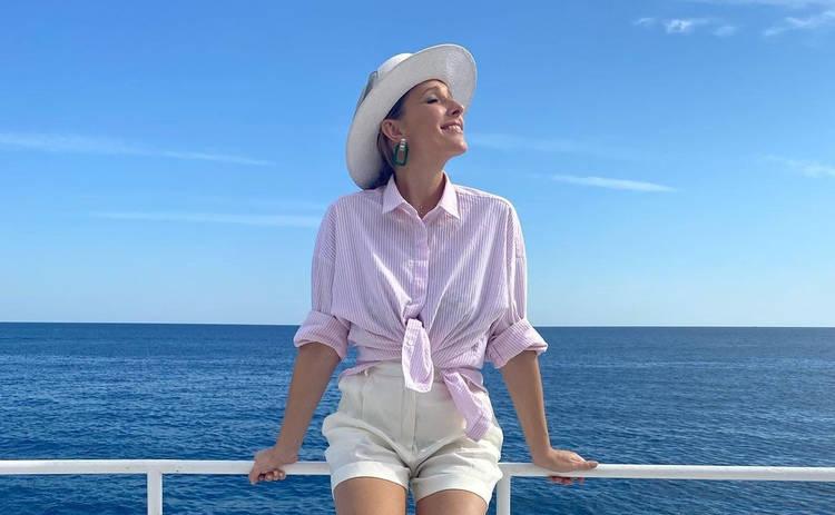 Беременная Катя Осадчая показала, как развлекается на отдыхе в Турции ‒ фото
