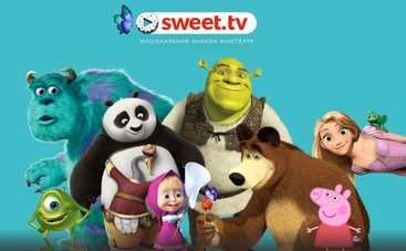 SWEET.TV увеличил библиотеку детского контента: мультфильмы без рекламы всегда под рукой