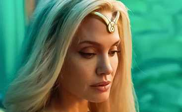Анджелина Джоли снова на больших экранах: вышел трейлер фильма Вечные