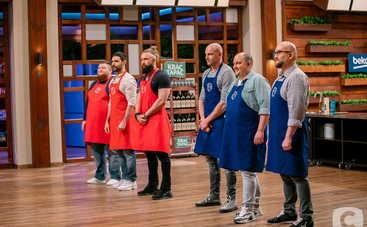"""МастерШеф. CELEBRITY: звездные брутальные бородачи схлестнутся в кулинарном бою с командой """"лысых"""""""