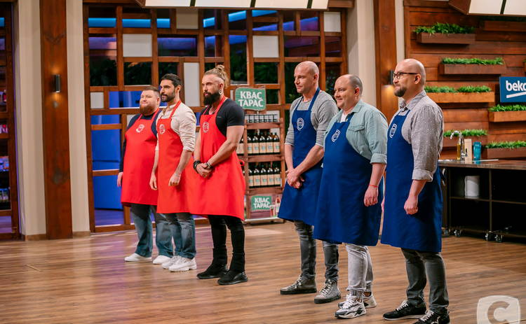 МастерШеф. CELEBRITY: звездные брутальные бородачи схлестнутся в кулинарном бою с командой