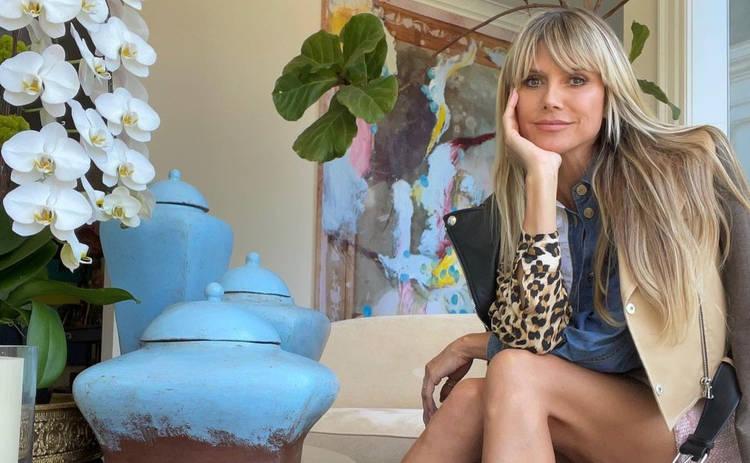 48-летняя Хайди Клум снялась абсолютно обнаженной - фото