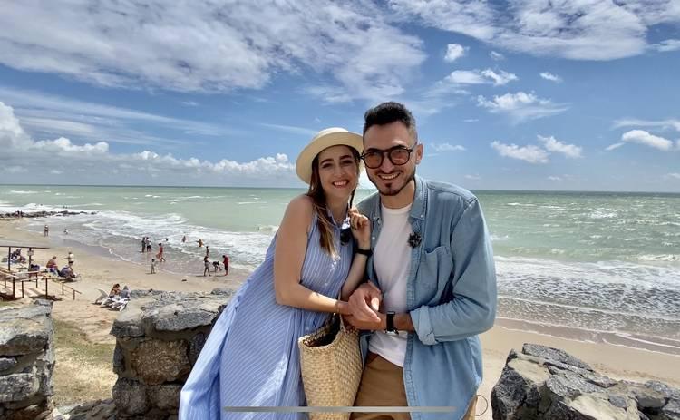 У кого більше?: Макс Узол и Оля Манько дали несколько советов для удачного отдыха у Азовского моря